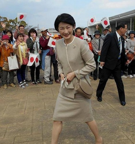 きゃーーー紀子さまの笑顔