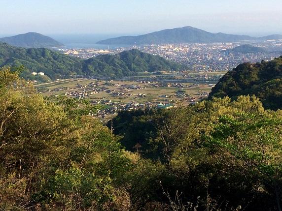 三谷山展望