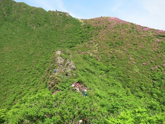 お鉢めぐり登山道