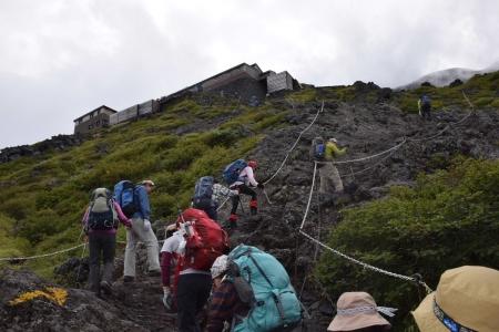19登山道