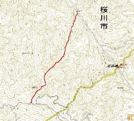 筑波山ルート1