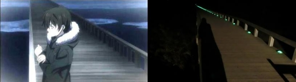 アニメ「ゴールデンタイム」に登場するあの橋にアニメファンが巡礼!  地元では観光効果に期待する声が