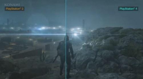 『メタルギアソリッド5 GZ』で 現世代機・次世代機の比較動画が公開! PS4が欲しくなって来た・・・
