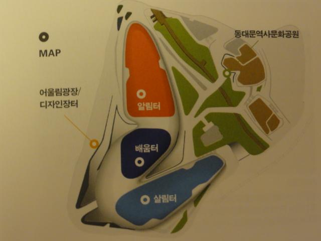 2014年3月25日 DDP地図