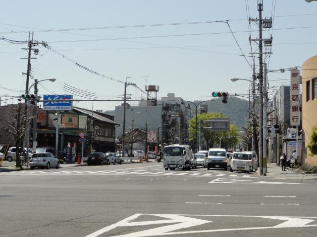 2014年4月15日 堀川北山交差点1
