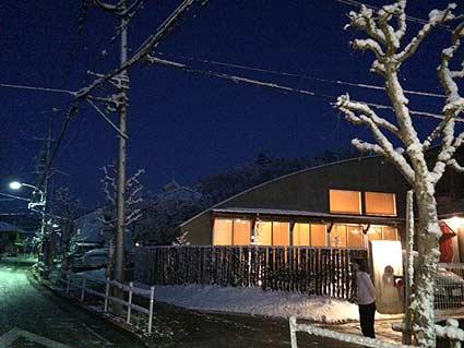 武蔵増戸-雪