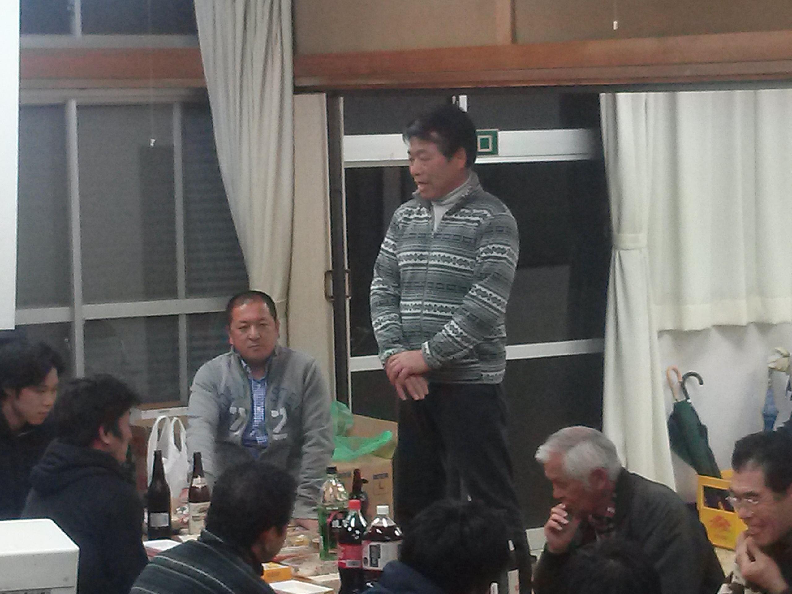 齋藤さん開会
