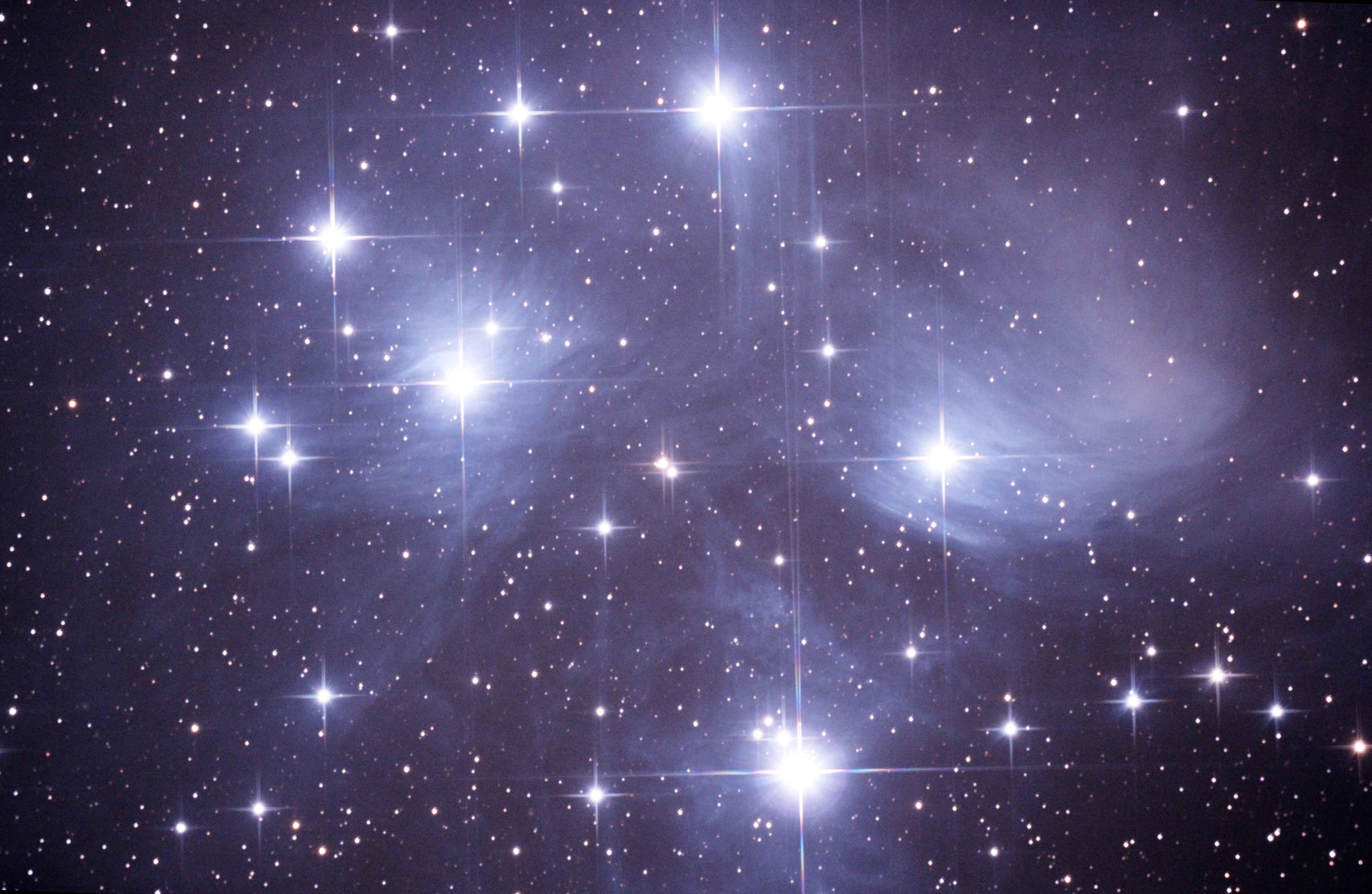 M45 プレアデス星団(スバル)2