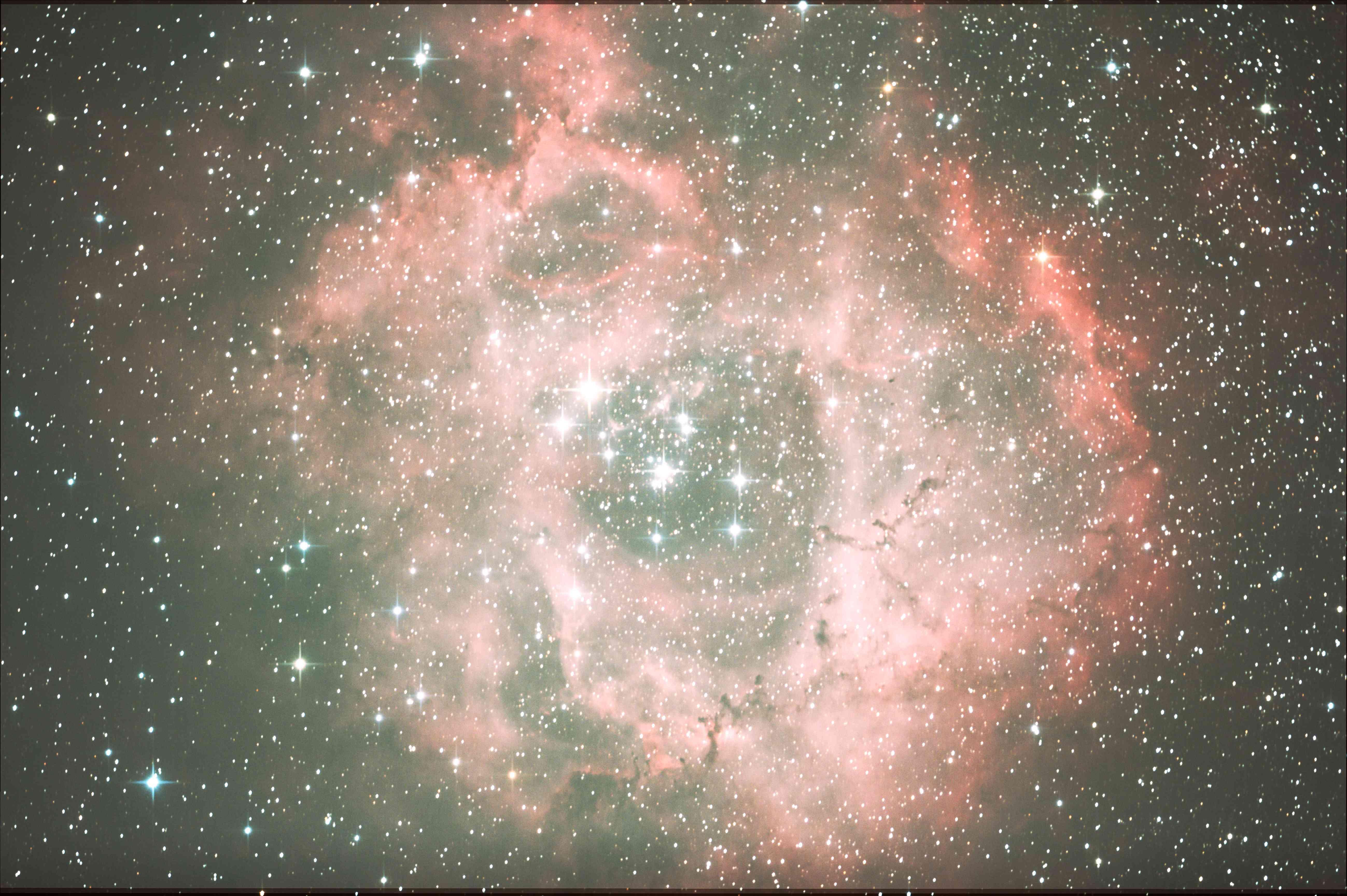 バラ星雲3回目のトライ
