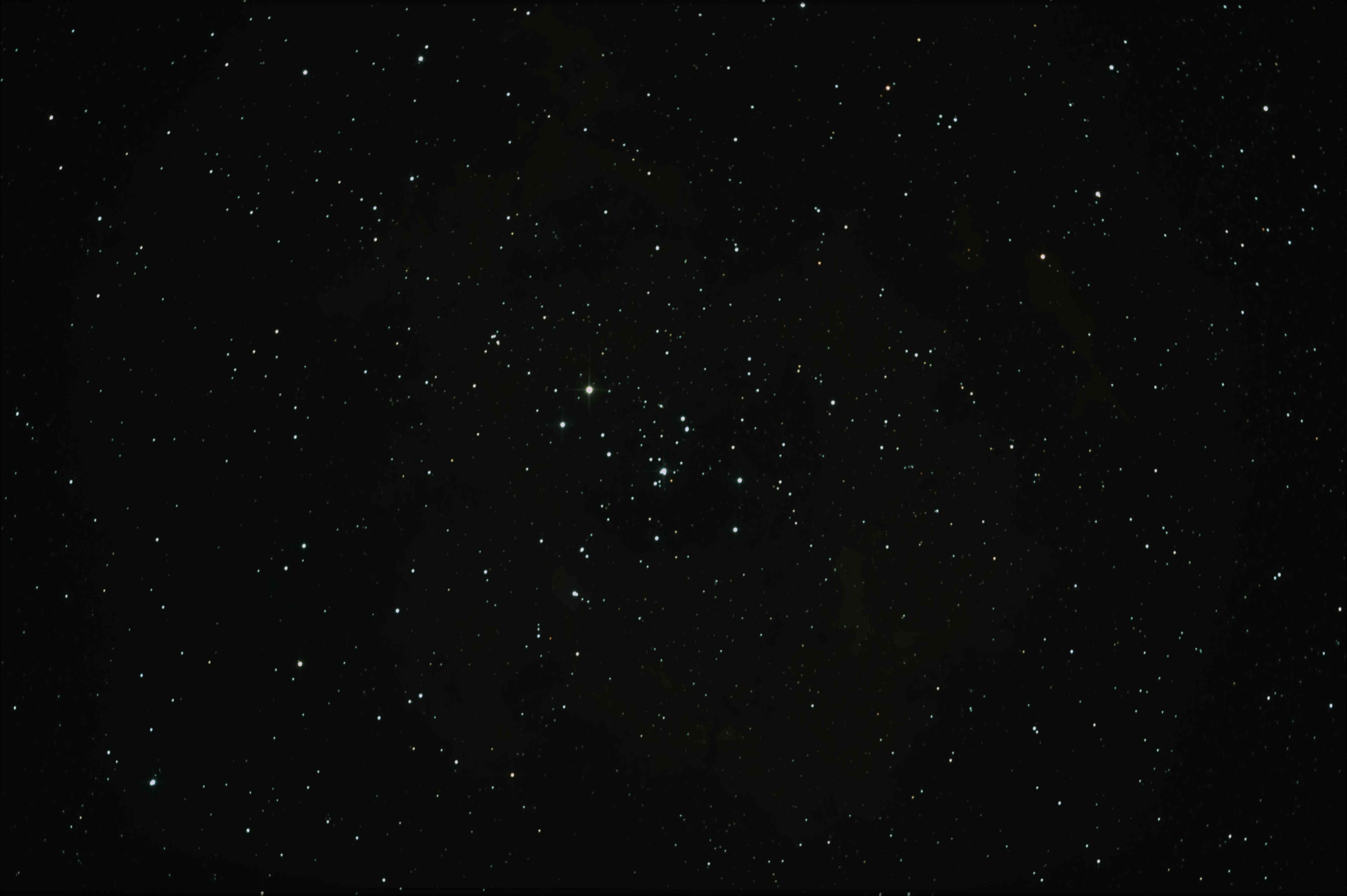 バラ星雲元画像(RAWからFTSに変換直後)