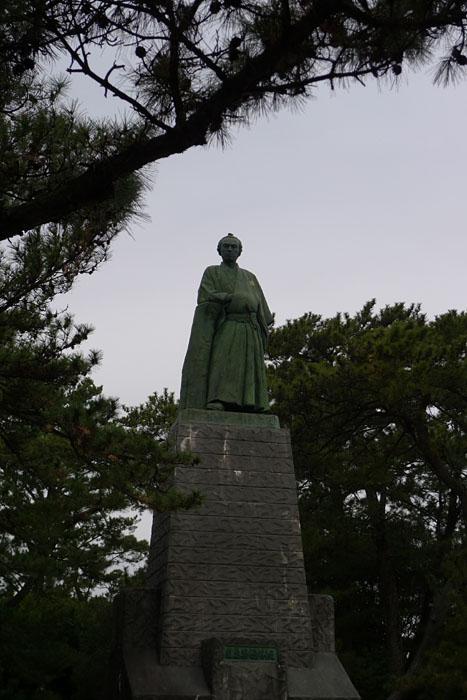 高知県 桂浜 坂本龍馬     1