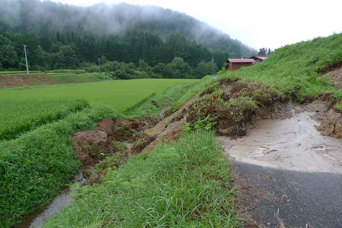 2014 夏 災害 大雨、 土砂崩れ 2