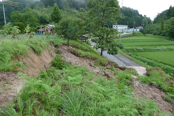 2014 夏 災害 大雨、 土砂崩れ 3