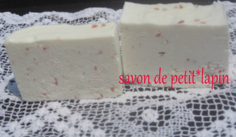 red salt soap