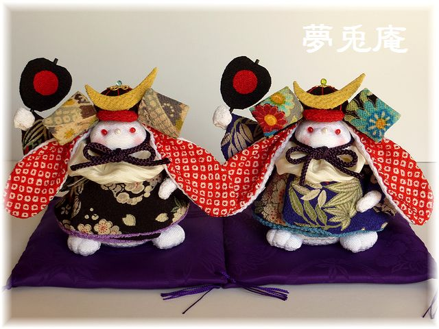 ウサギ五月人形(2014) (1)