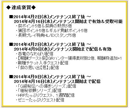 20144褒賞祭り