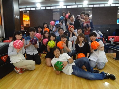 横浜ウインドウイザードのボウリング大会