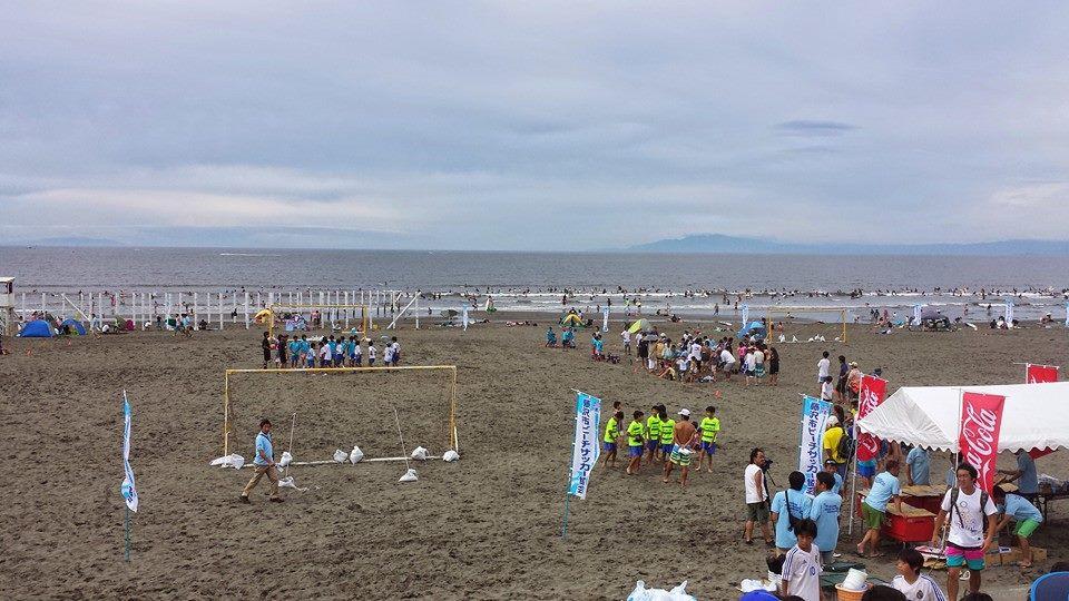 ビーチサッカー1