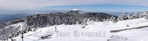 山頂からのパノラマ 2