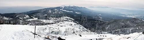 山頂からのパノラマ 1
