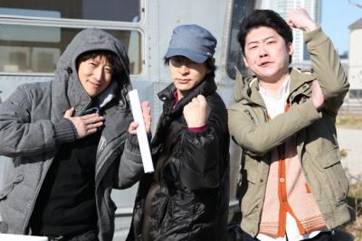 左から荒木先生、松井先生、附田先生