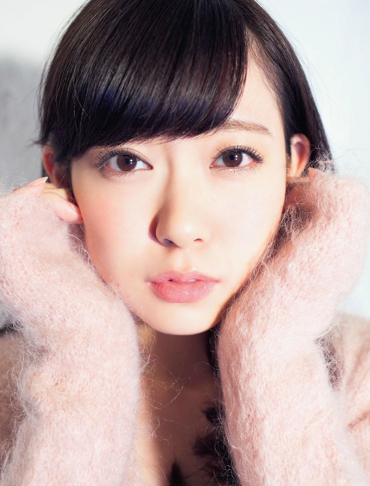 NMB48 渡辺美優紀 セクシー 顔アップ カメラ目線 高画質エロ ...