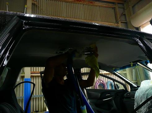 車 シートクリーニング