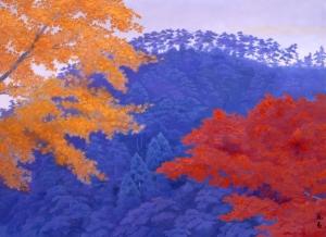 033_A1408 東山魁夷 秋彩 1986(昭和61) 山種美術館