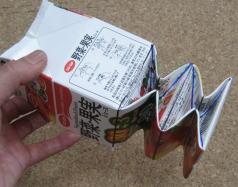 牛乳パックの折り方8