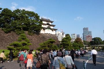 富士見櫓に戻る。