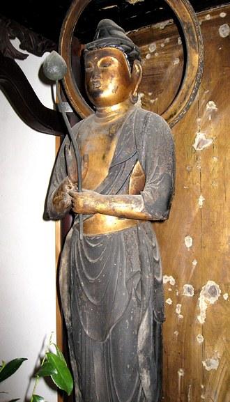 法華寺町・菩薩立像