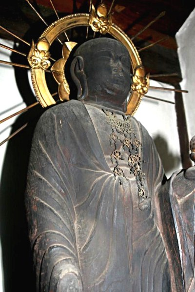 三郷町観音寺・地蔵菩薩立像
