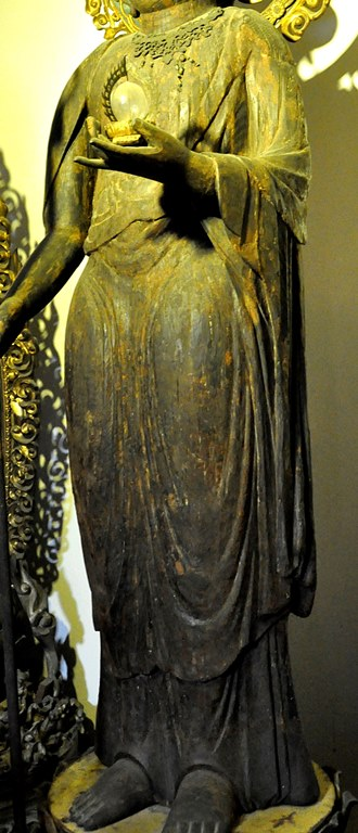 地蔵堂・地蔵菩薩立像の体部