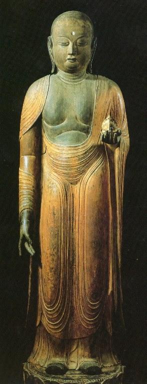 中村区安産寺(室生寺旧仏)・地蔵菩薩立像