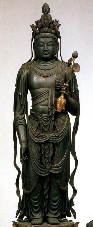 道明寺・十一面観音立像