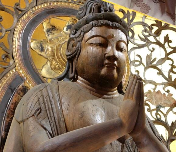 廣智寺・観音菩薩立像