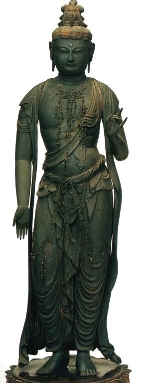 璉城寺・観音菩薩立像
