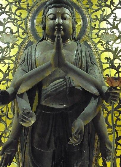 廣智寺・観音立像