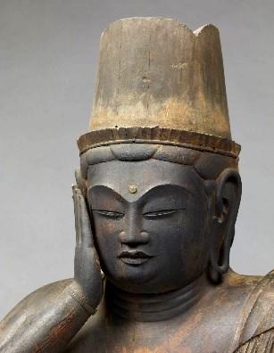 奈良国立博物館・如意輪観音坐像(9~10世紀)