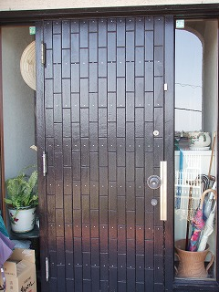 玄関ドア修理 (3)