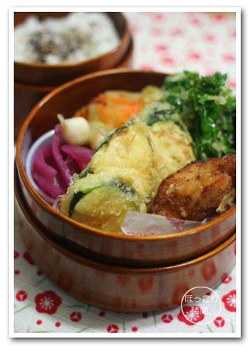 たらの塩麹漬け天ぷら弁当