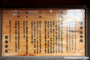 日吉神社(昭島市拝島町)10