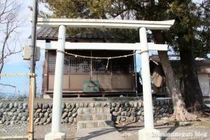 八雲神社(福生市熊川)1