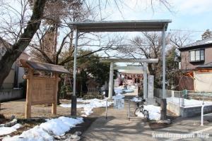 野辺八雲神社(あきる野市野辺)1