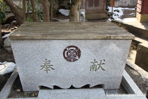 野辺八雲神社(あきる野市野辺)8