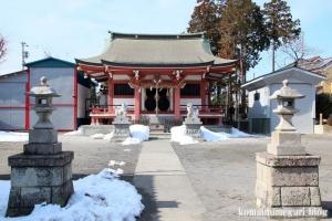 野辺八雲神社(あきる野市野辺)9