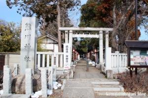 熊川神社(福生市熊川)1