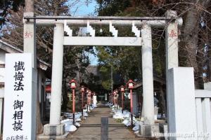 熊川神社(福生市熊川)3