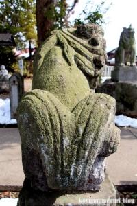 熊川神社(福生市熊川)37