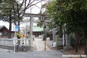 西一之江香取神社(江戸川区西一之江)1